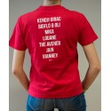 T-Shirt Enfant Rouge Programmation PG16