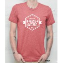T-shirt Homme Rouge Chiné PG17